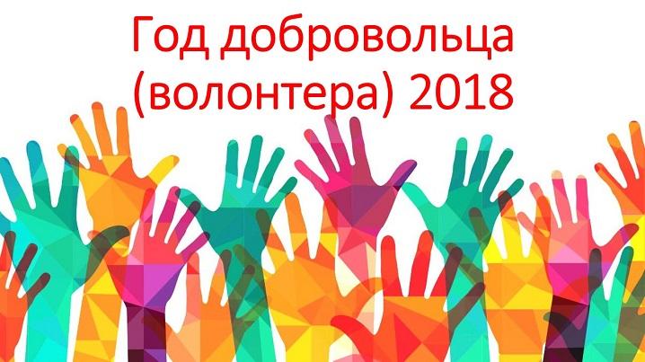 Год добровольца (волонтёра) 2018